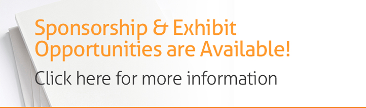 Sponsorship & Exhibit Opportunities are Available!